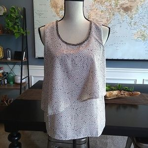Juicy Couture Speckled Sleeveless Top